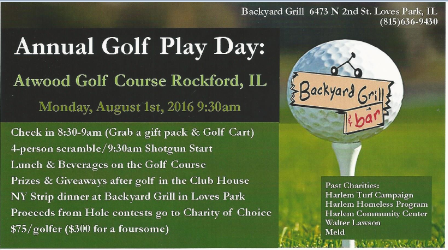 BYG Golf Play Day 2016