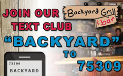 Join our text club banner